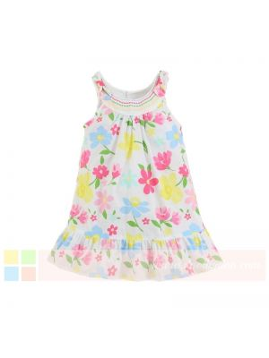 Mom And Bab Eden Collection - Pink Floral Dress
