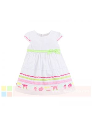 Mom And Bab Eden Collection - White Floral Dress