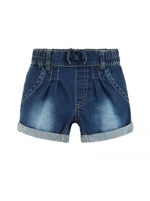 Mom And Bab Flower Collection - Denim Shorts