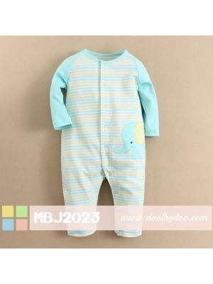 Mom And Bab Jumpsuit - Elephant
