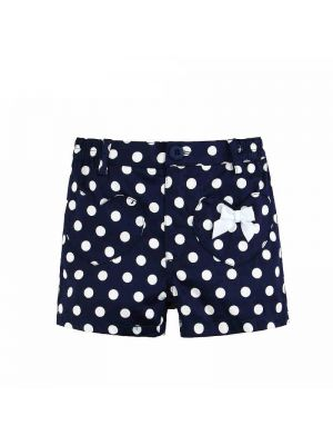 Mom And Bab Navigation Collection - Navy Polkadots Shorts