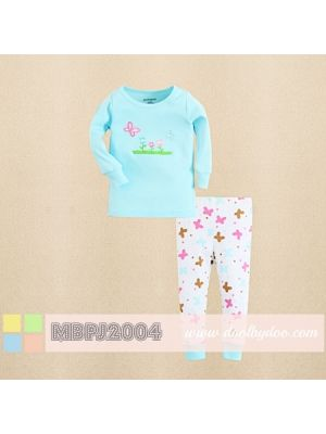 Mom And Bab Pajamas - Butterflies