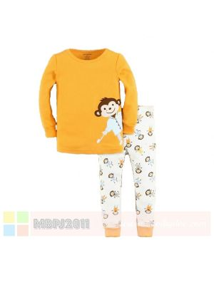 Mom And Bab Pajamas - Monkey Toothbrush
