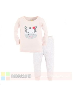 Mom And Bab Pajamas - Zebra