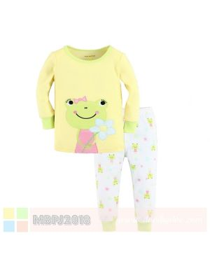 Mom And Bab Pajamas - Girlie Frog