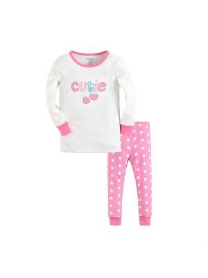 Mom And Bab Pajamas - Cutie Cherry