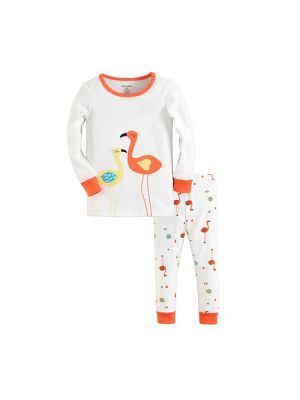 Mom And Bab Pajamas - Flamingo Tango