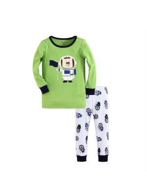 Mom And Bab Pajamas - Space Dog