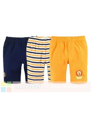 Mom And Bab Pants 3pk - Lion