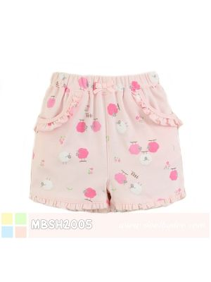 Mom And Bab Short Pants - Pink Sheep