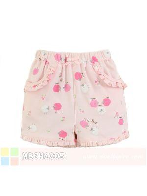 Mom And Bab Short Pants - Pink Sheep