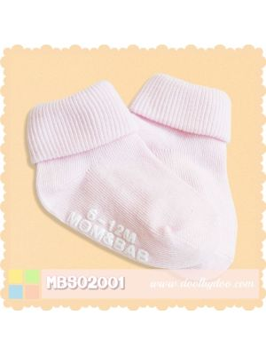 Mom And Bab Socks 2pk - Pink