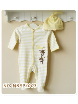 Sleep & Play & Hat Set - Monkey