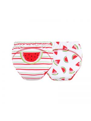Mom and Bab Training Pants 2pk - Watermelon