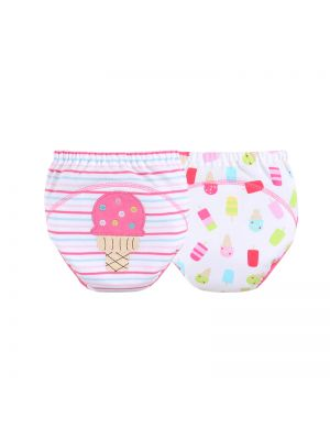 Mom and Bab Training Pants 2pk - Ice Cream