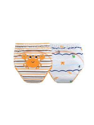Mom and Bab Training Pants 2pk - Crab