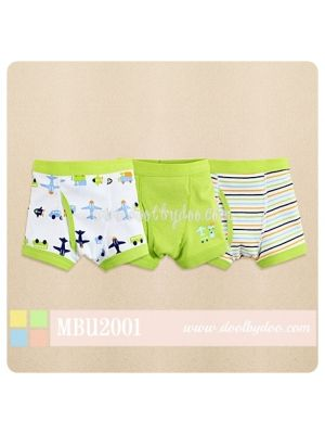Mom And Bab Underwear 3pk Boys' Boxers - Planes