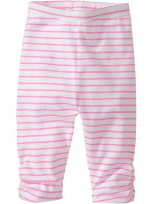 Printed Leggings - Pink Stripe