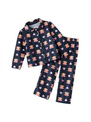 Paul Frank Navy Heart Pajama Set
