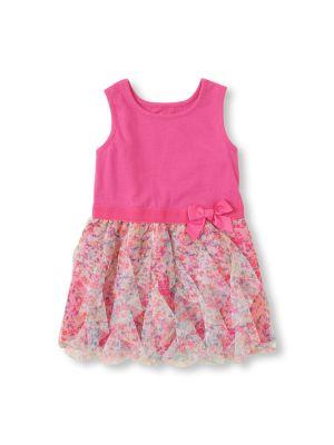 The Children's Place Cascade Ruffle Dress