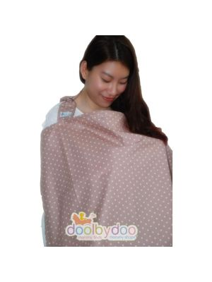 Bloom Nursing Cover - Pink Polka
