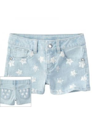 SONOMA Star Denim Shorts
