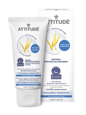 Attitude Sensitive Skin Care, Protective Ointment - Fragrance Free