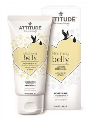ATTITUDE Blooming Belly Natural Stretch Oil - Almond & Argan