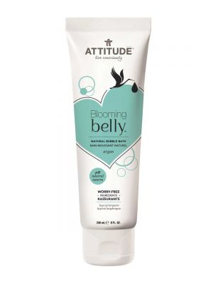 ATTITUDE Blooming Belly Natural Bubble Bath - Argan - PH Neutral