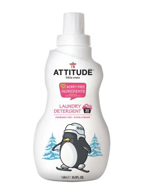 ATTITUDE Baby Safe Laundry Detergent 1.05L - Fragrance Free