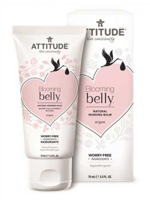 ATTITUDE Blooming Belly Natural Nursing Balm - Argan