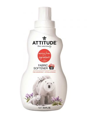 ATTITUDE Fabric Softener 1L - Pink Grapefruit