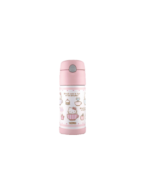 0.355L Thermos Sanrio Hello Kitty Straw Bottle B2011PK