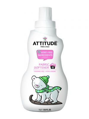ATTITUDE Baby Safe Fabric Softener 1L - Fragrance Free