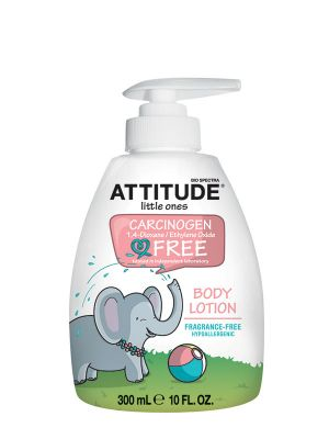 ATTITUDE Baby Body Lotion 300ml - Fragrance Free