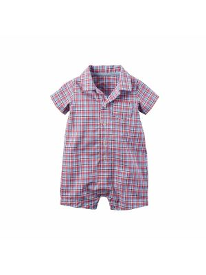 Carter's Baby Boy Romper Red & Blue Navy