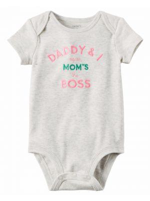 Baby Girl Carter's Slogan Bodysuit