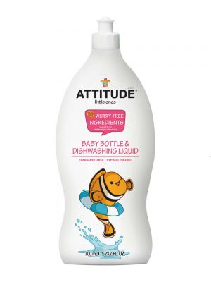 ATTITUDE Dishwashing Liquid 700ml - Fragrance Free