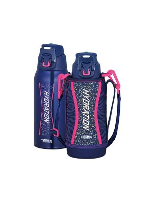 Thermos Sports Bottle w/ Bag 0.8L - Navy Pink | FFZ-801F-NVP