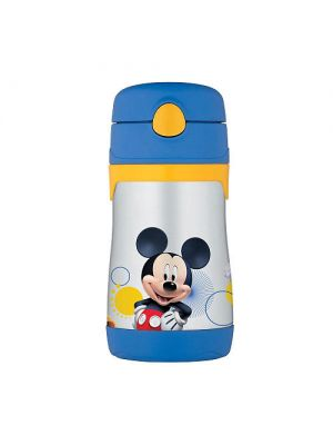 Thermos 290 ml FUNtainer Straw Bottle - Mickey Mouse