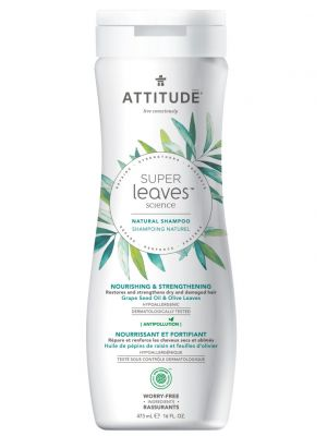 Attitude Super Leaves Science, Shampoo - Nourishing & Strengthening