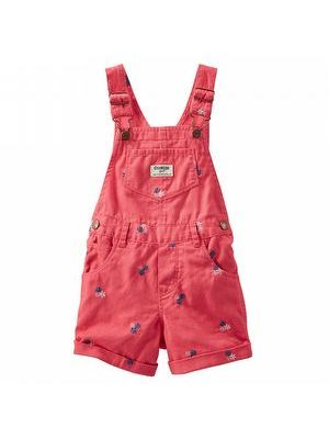 Oshkosh Roll Flower Shortall