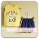 Mom And Bab Sport Tee Set - Yellow/Mesh