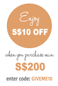 Enjoy S$10 for purchase $200 or above