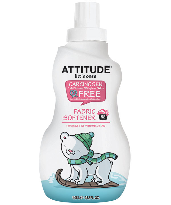 Attitude Little Softener Fragrance Free
