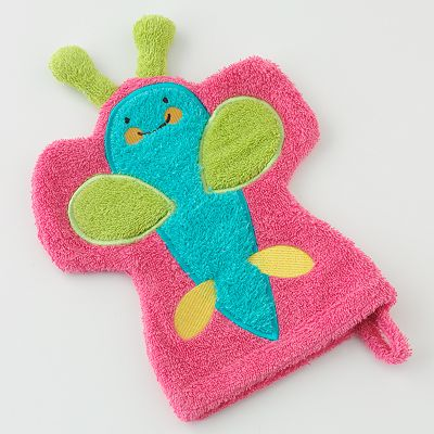 Wash Mitt - Butterfly